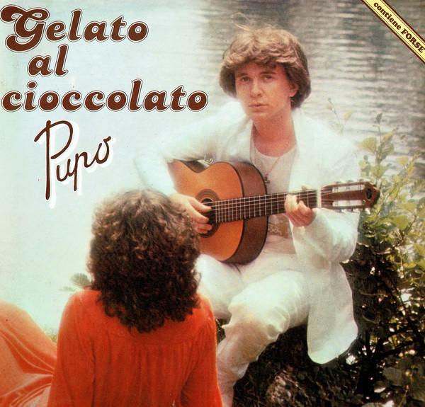 """La copertina del disco """"Gelato al cioccolato"""":"""