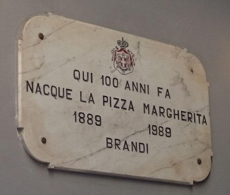 targa prima pizza a napoli