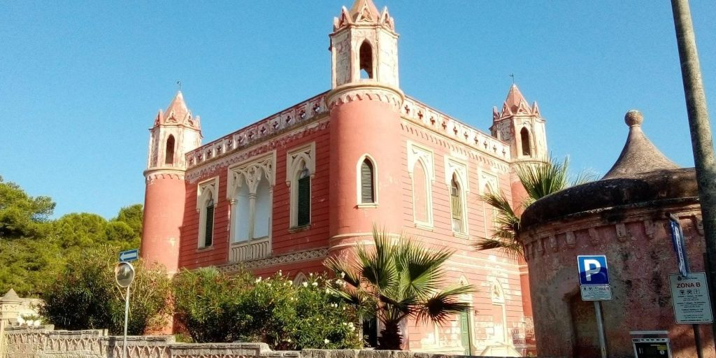 Visuale di Villa Mellacqua a Santa Maria di Leuca