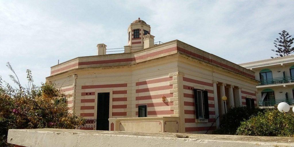 Visuale di Villa La Meridiana a Leuca