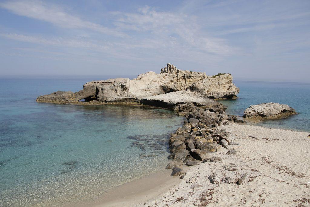 Una spiaggia della Calabria