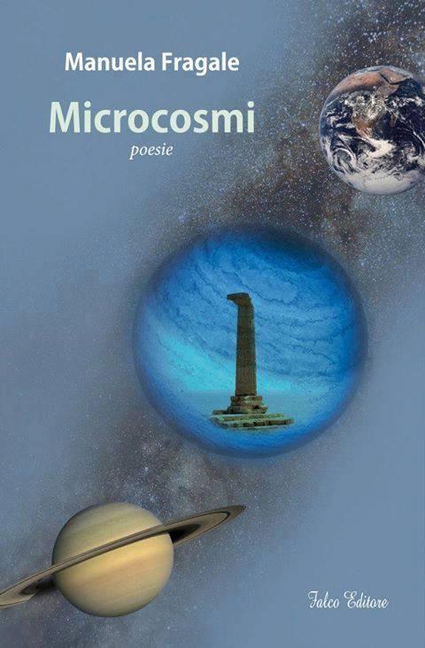 """Manuela Fragale, copertina del libro """"Microcosmi"""""""