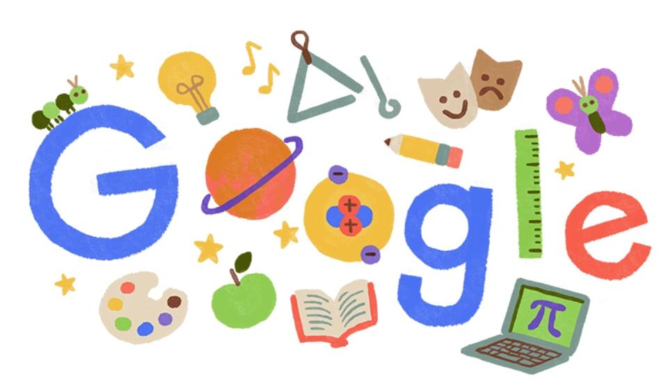 Insegnanti, l'omaggio di Google nella giornata