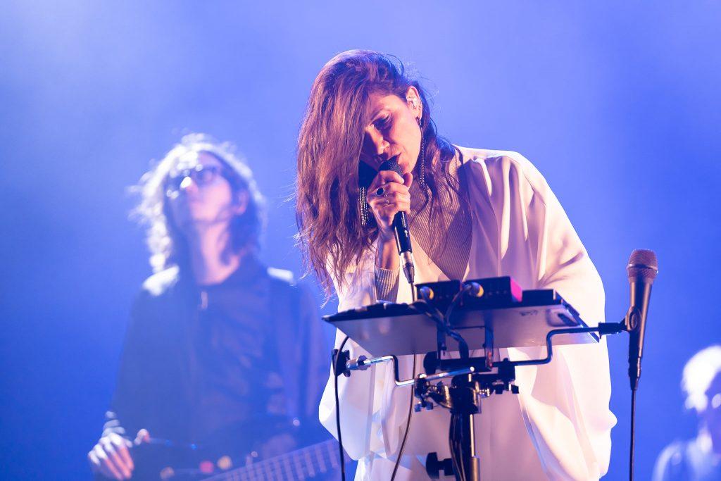 Elisa Toffoli durante un concerto