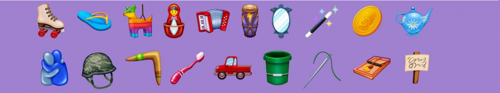 Nuove emoji colorate Apple