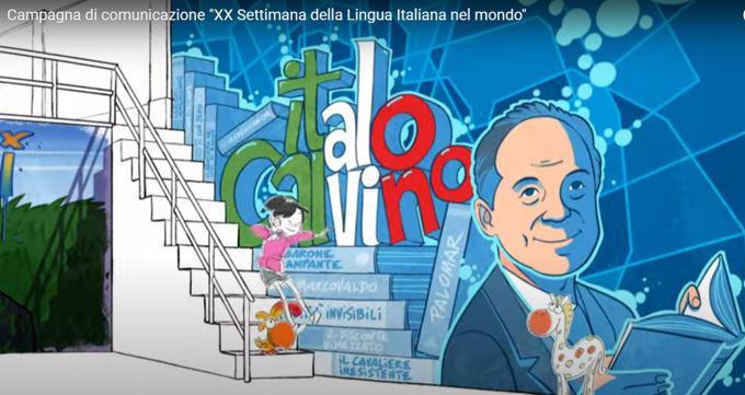 Spot XX Settimana lingua italiana