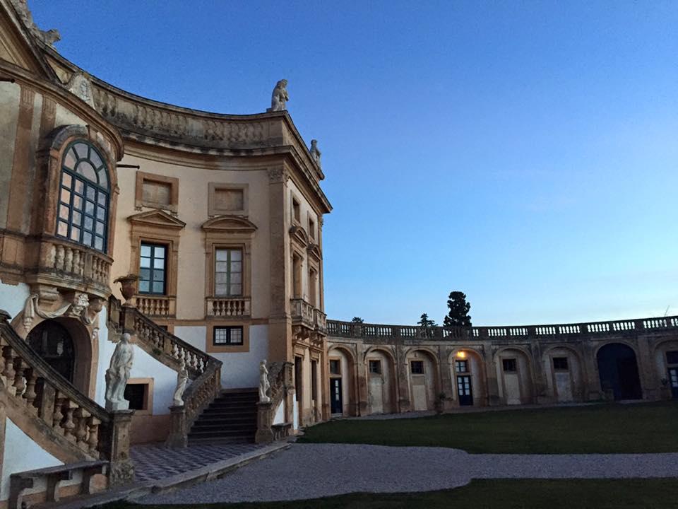 La villa di Bagheria della famiglia di Vittoria Alliata