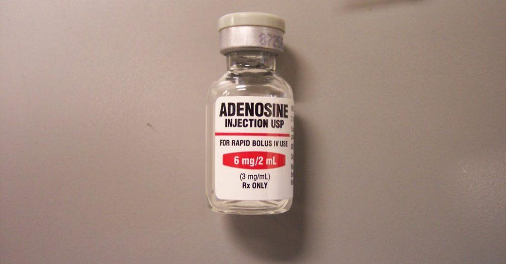 Adenosina contro il Covid-19 - flacone adenosina