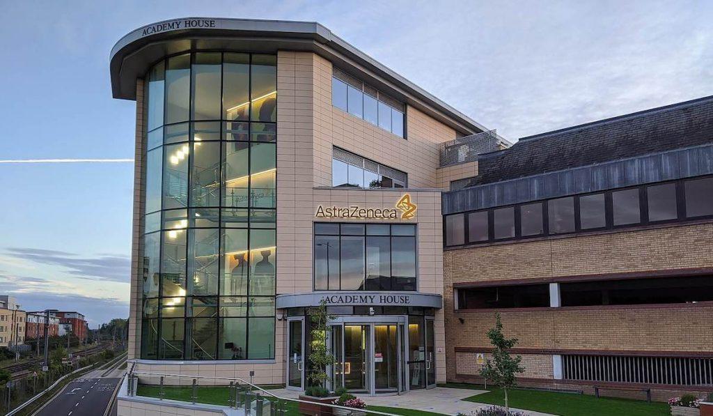 Vaccino AstraZeneca - Sede AstraZeneca Cambridge UK