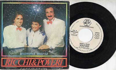 Versione 45 giri disco i Ricchi e Poveri