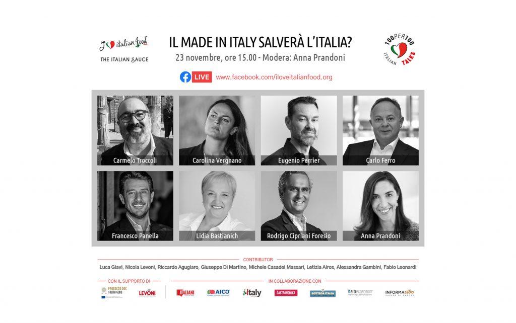 100per100 Italian Talks - ospiti della trasmissione