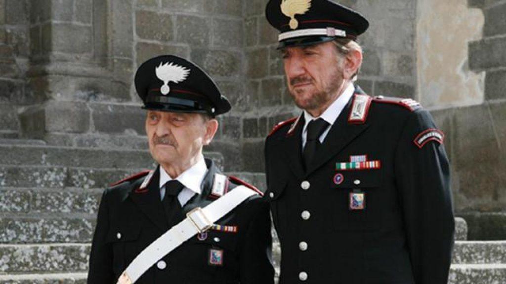 Rocca e il brigadiere Sergio Fiorentini