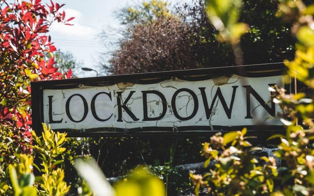 Restrizioni Covid-19 a Natale - Cartello Lockdown