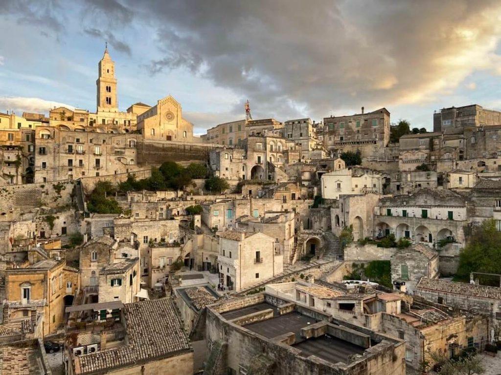 Capitale italiana della cultura 2022 - Vista sui sassi di Matera