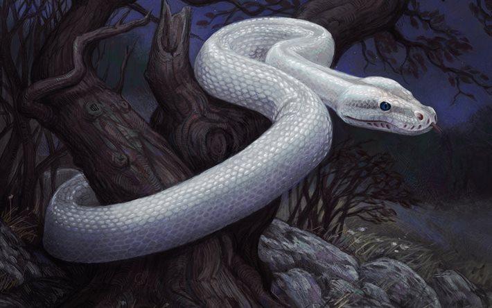 La serpe bianca - Il serpente del latte