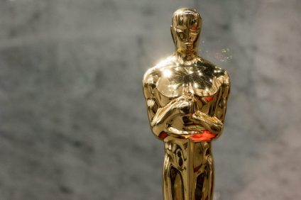 Oscar 2021 - Primo piano statuetta Academy Awards
