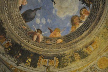 palazzo ducale - soffitto della camera degli sposi
