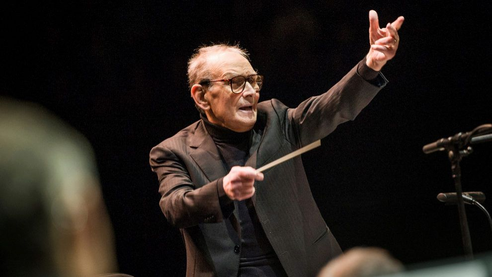 Maestro e direttore d'orchestra Ennio Morricone