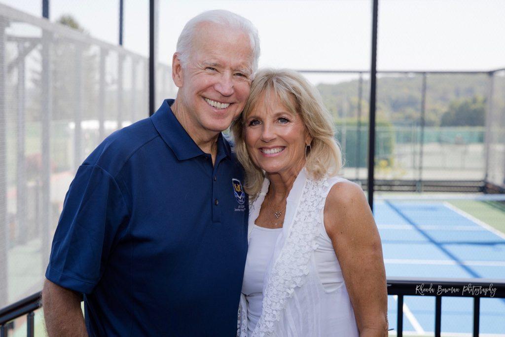 Jill Biden e il marito Joe
