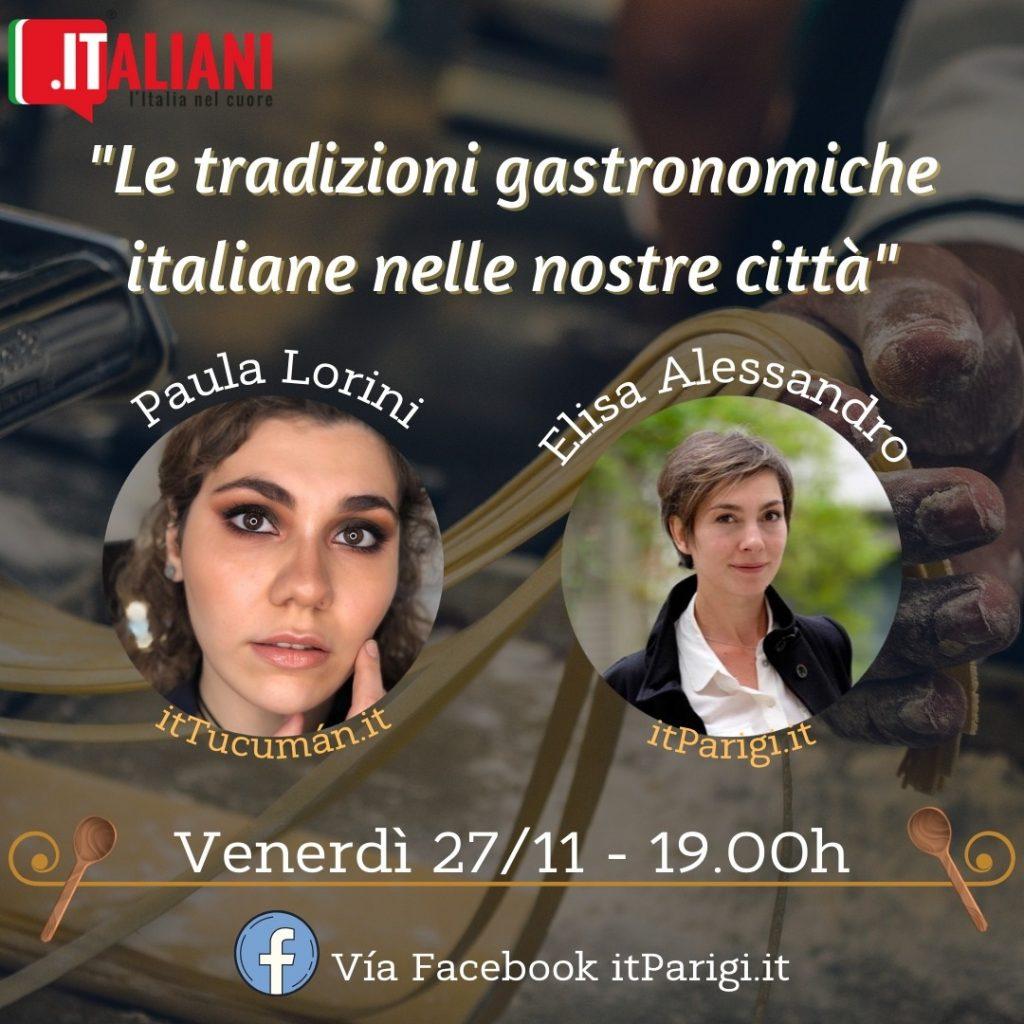 Appuntamento di itParigi su la cucina italiana
