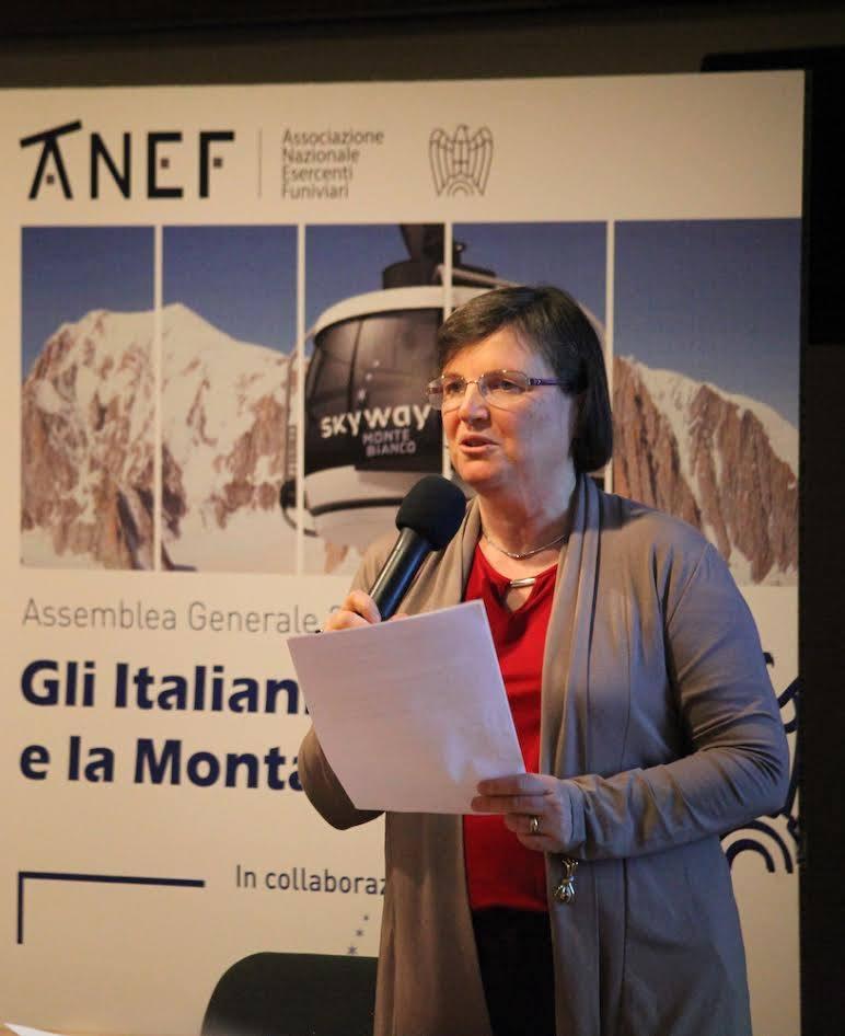 stagione sciistica, Valeria Ghezzi (Facebook @ANEF)