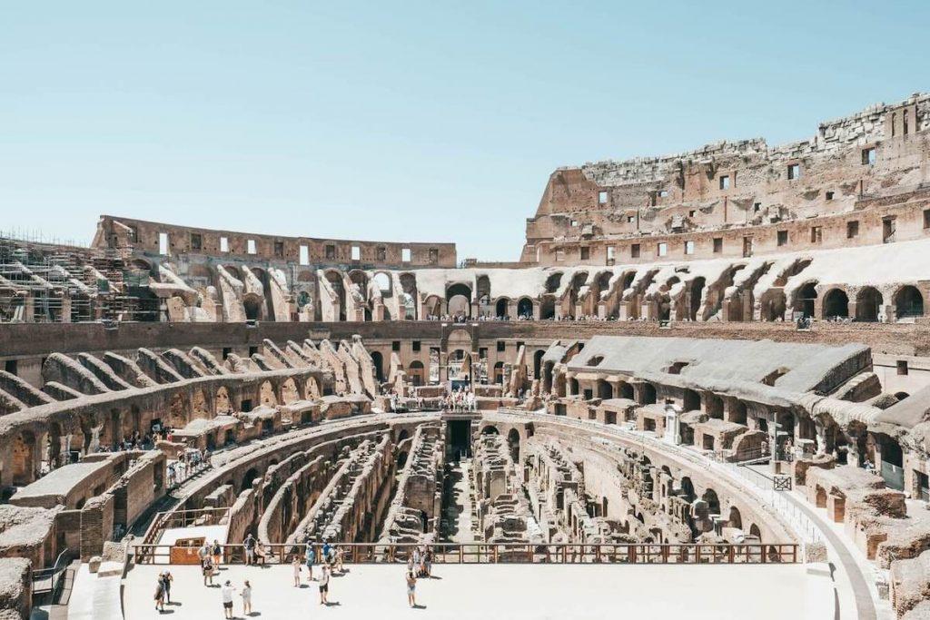 Arena del Colosseo - interno del Colosseo