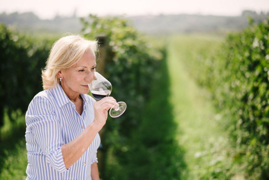 Il miglior vino rosso al mondo. Nella foto Marilisa Allegrini