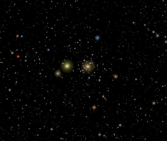 Stella cometa di Betlemme - Congiunzione Marte e Saturno nel 2006