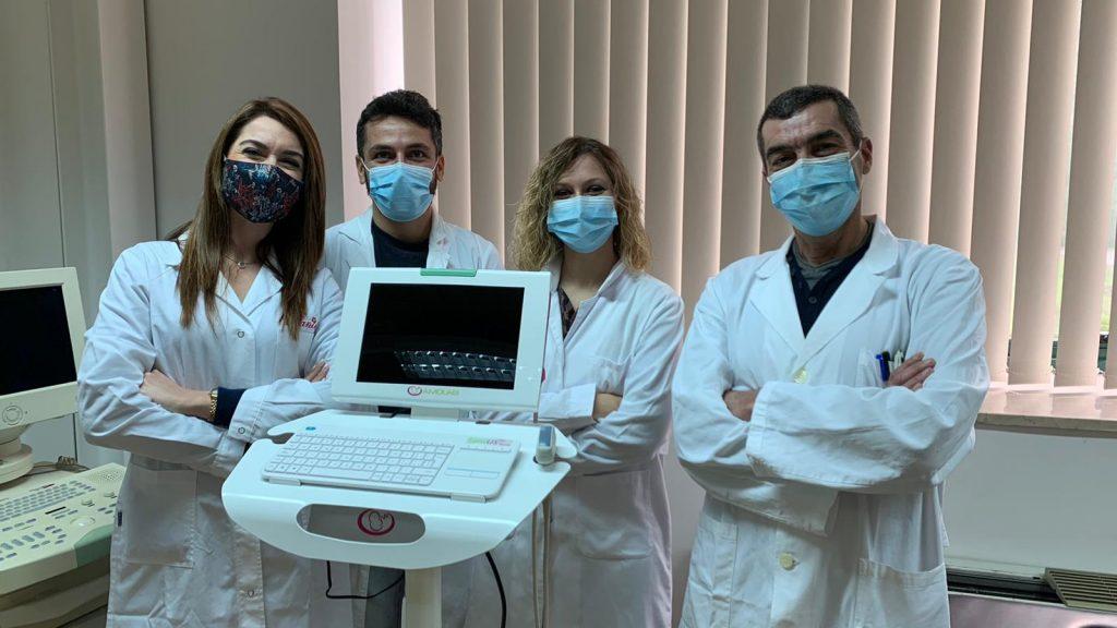 dottori con apparecchio EcovidUs