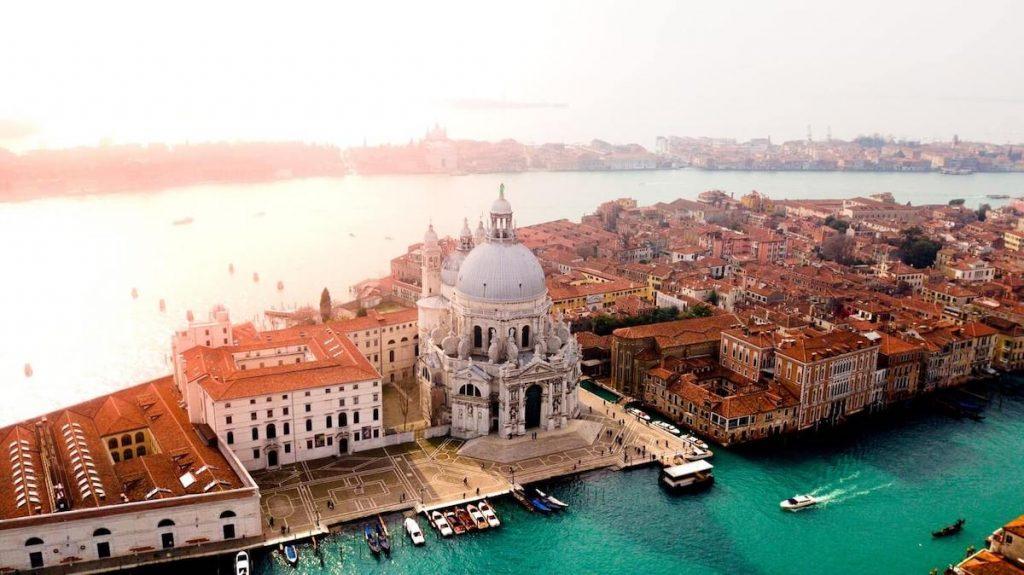 Viaggi di nozze in Italia - Venezia vista dall'alto
