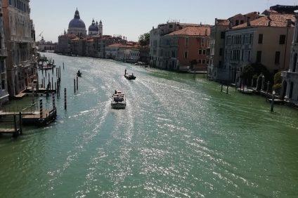 Venezia luce in Canal Grande
