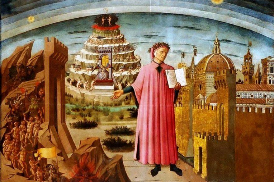 Dante fu tra i cultori della lingua italiana