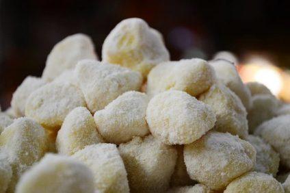 Gli gnocchi di patate