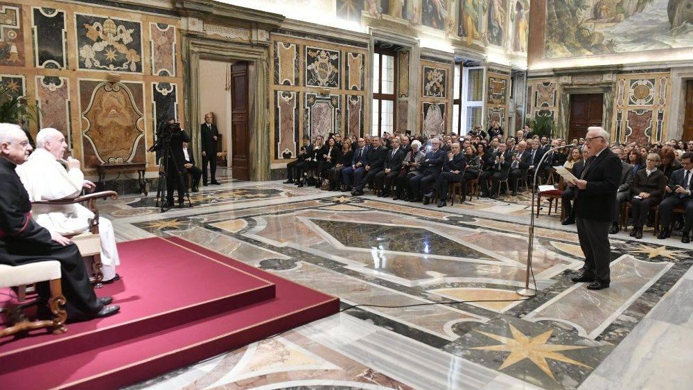 Il centro Livatino dal Papa