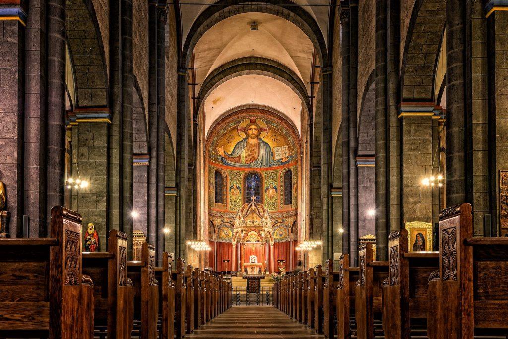 messa di Natale 2020 - chiesa