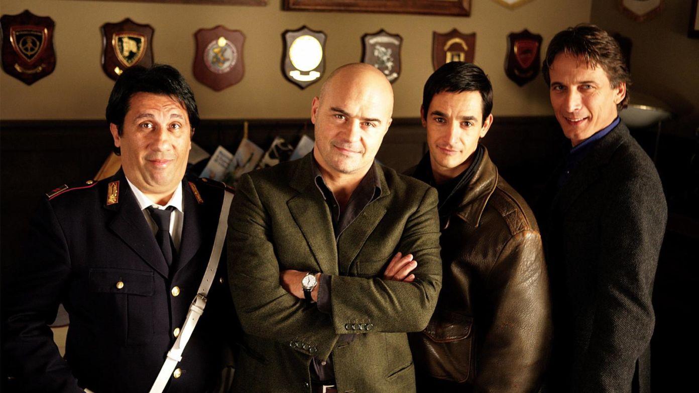 Il commissario Montalbano - I protagonisti della serie.