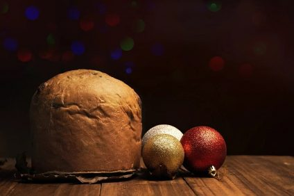 Un panettone sospeso per il Natale