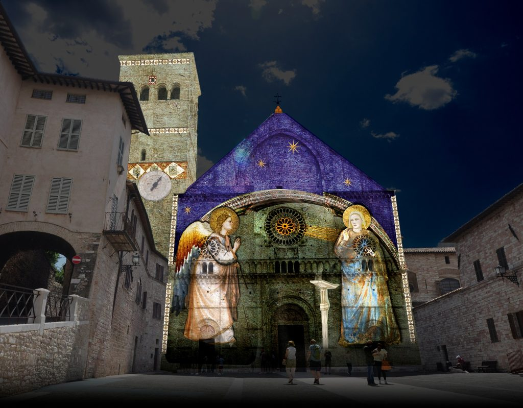 La chiesa di San Rufino ad Assisi