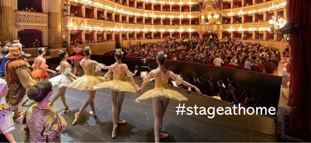 #stageathome
