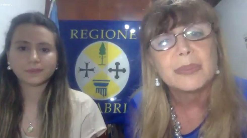 Lingua italiana - Teresa Straface, SG dell'Associazione Calabrese