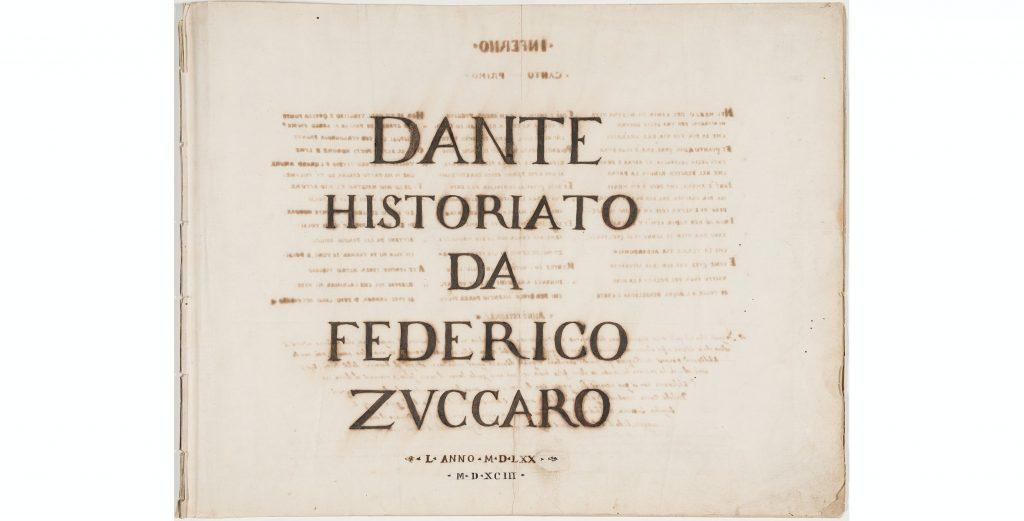disegni della Divina Commedia - libro dante
