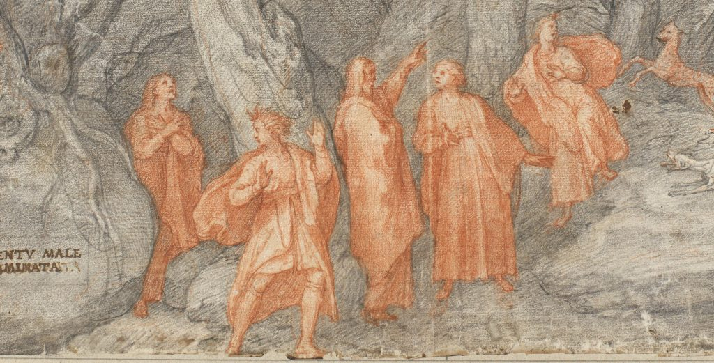 disegni della Divina Commedia - personaggi danteschi