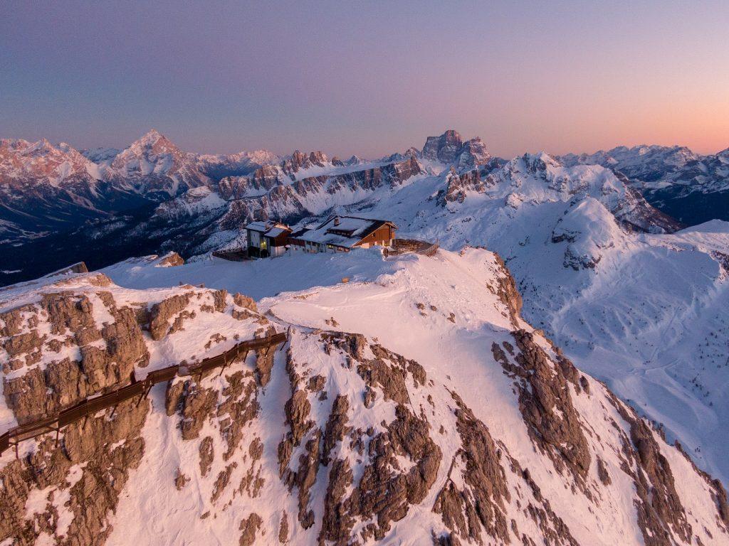 Campionati del Mondo di sci alpino a Cortina - vetta di Cortina d'Ampezzo