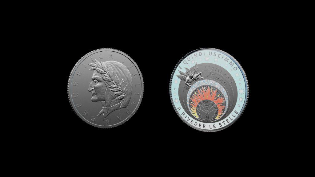 Zecca, la moneta dedicata a Dante