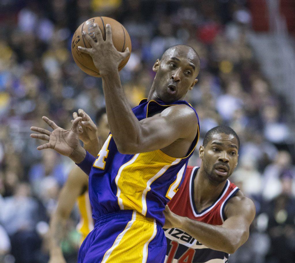 Kobe Bryant in campo