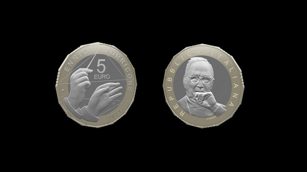 La moneta della Zecca dedicata a Morricone