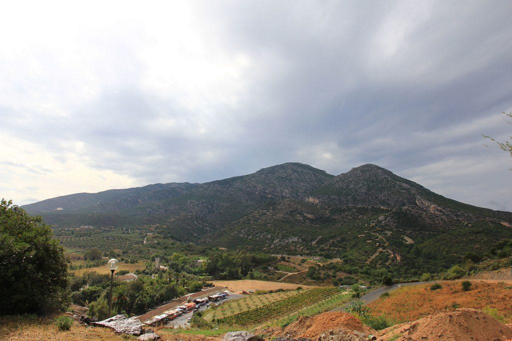 Galtellì - panorama