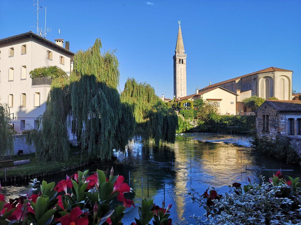 Sacile - veduta con campanile