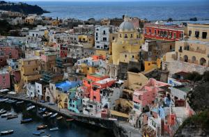 Procida Capitale Italiana della Cultura 2022 - Vista dell'isola di Procida
