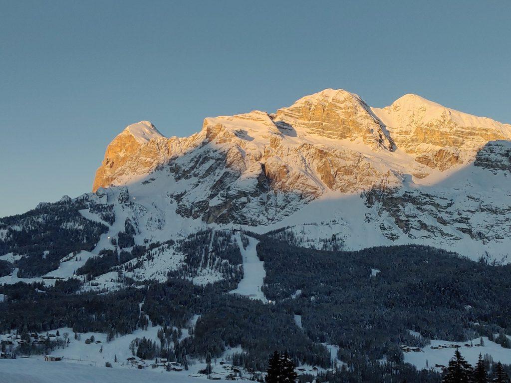 Campionati del Mondo di sci alpino a Cortina - montagne di Cortina